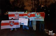 Акции протеста прошли сегодня по всей Беларуси