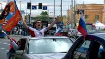 Польские и российские фанаты «оккупировали» Варшаву (Видео)