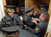 Милиция пыталась проникнуть в офис телеканала «Белсат» (Фото)