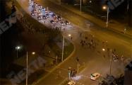 Демонстранты перекрыли улицу Кальварийскую в Минске