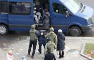 В Минске и других городах Беларуси 27 марта задержали более 200 человек
