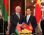 Мясникович поручил ускорить реализацию совместных проектов с Вьетнамом и Мьянмой