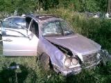Водитель уснул за рулем на трассе М1, пострадали трое детей