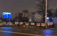 Минчане в цепях солидарности устроили перекличку