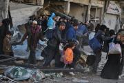 Из сирийского Хомса за четыре дня эвакуировали более тысячи человек