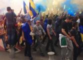 Столкновения в центре Харькова: есть раненые (Видео)
