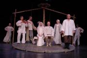 """Десятилетие спектакля """"Адвечная песня"""" отпразднуют в театре белорусской драматургии"""