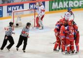 Хоккеисты сборной Беларуси матчем со сборной Чехии стартуют на ЧМ-2013 в Стокгольме