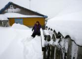 Деревни на Могилевщине остаются в снежном плену