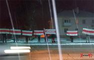 Жители Березовки выстроились в цепь солидарности