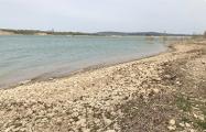 В Крыму резко обмелело Белгородское водохранилище