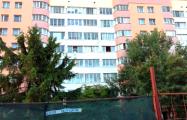 В Минске пилят старые деревья для парковки у ресторана