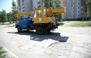 Борисовские автомобилисты: Машины цепляют днищем асфальт