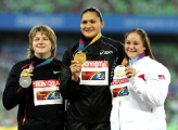 Надежда Остапчук за день дважды обновила рекорд Беларуси в толкании ядра
