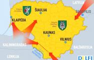 Четверть литовцев видят в Беларуси угрозу