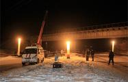 В оккупированном Донецке подорвали железнодорожный мост