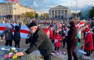 Марш мудрости закончился на площади Якуба Коласа