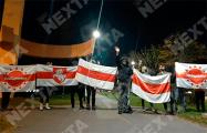 Барановичи, Гомель, Лебяжий, Маяк Минска также вышли на вечерние протесты