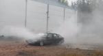 Беспощадная автомойка: Mercedes не выдержал напора воды