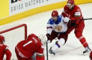 Беларусь, вошедшая в восьмерку лучших хоккейных дружин, в четвертьфинале встретится со шведами