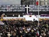 Церемонию прощания с погибшими под Смоленском посетили десятки тысяч человек