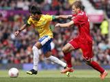 Белорусские футболисты проиграли бразильцам на Олимпиаде-2012