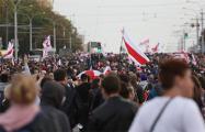 Воскресный марш в Минске в фотографиях