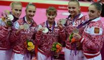 Американские гимнастки выиграли командное многоборье на Олимпиаде-2012