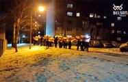 В Новополоцке проходит массовый марш
