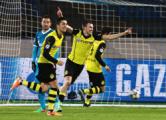 «Зенит» проиграл «Боруссии» в 1/8 финала Лиги чемпионов