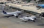 В аэропорту Тегерана загорелся самолет со 100 пассажирами на борту