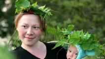 В Беларуси растет рождаемость и в городах, и на селе