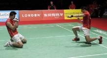 Китайцы завоевали первую награду на олимпийском турнире по бадминтону