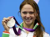 Александра Герасименя завоевала серебряную медаль на Олимпиаде-2012