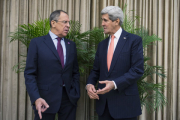 Лавров и Керри обсудили палестино-израильское урегулирование