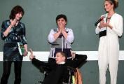 Александра Герасименя в последний день в Лондоне уделила себе всего пару часов (ФОТО, ВИДЕО)