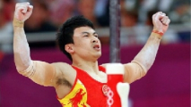 Китайские гимнасты завоевали два олимпийских золота на отдельных снарядах