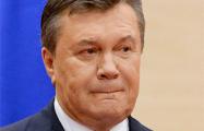 Янукович похвалил Путина за нападение на Украину