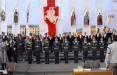 Видеофакт: Военные выступают за присягу на белорусском языке