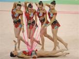 Белорусские грации завоевали олимпийское серебро в групповых упражнениях