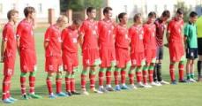 Молодежная сборная Беларуси по футболу крупно проиграла команде Кипра в отборочном матче чемпионата Европы