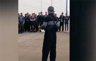 Акция протеста прошла в Национальном аэропорту Минск