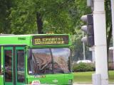 В Минске 19 августа изменяется движение автобусов маршрута №99