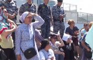 В Казахстане многодетные матери вышли на протест