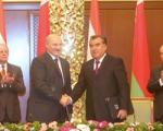 Лукашенко и Рахмон подписали ряд документов о сотрудничестве