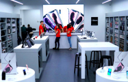 Минчанину на открытии нового магазина Apple продали демо-версию iPad
