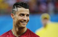 Роналду перед матчем с «Севильей» показал болельщикам пять «Золотых мячей»