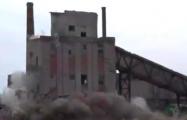 В Орше взорвали 25-метровое здание