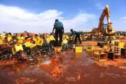 Исламская полиция в Нигерии уничтожила 240 тысяч бутылок пива