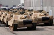 В Литву прибыли американские танки и боевые машины пехоты